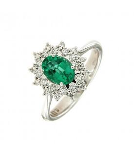 Anello con Smeraldo 0,86 ct...
