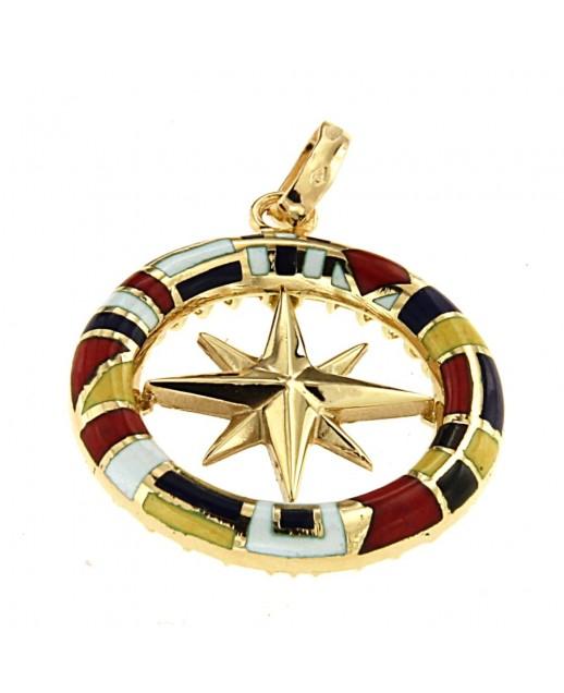 Medaglia Rosa dei Venti in Oro giallo