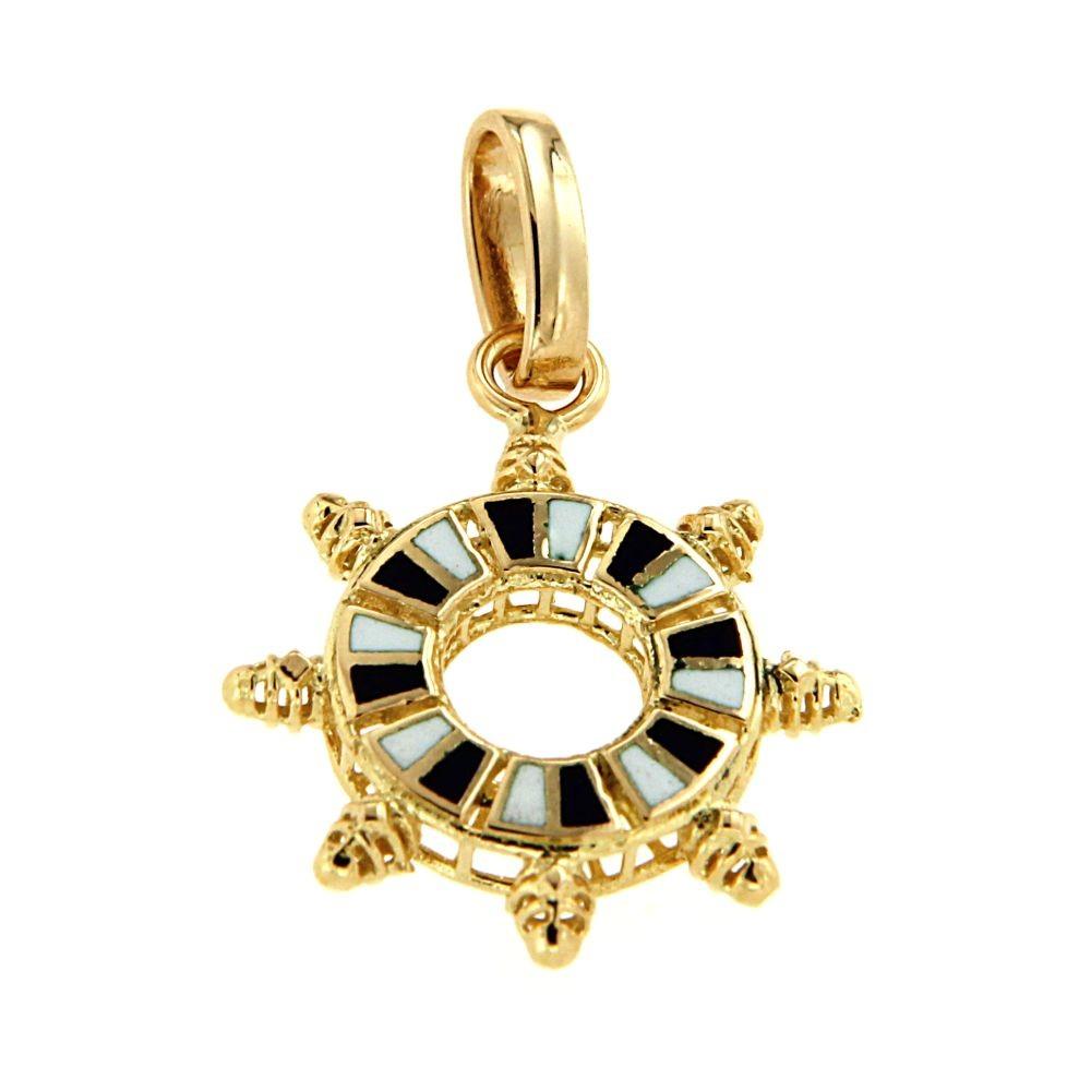 Medaglia Timone in Oro giallo