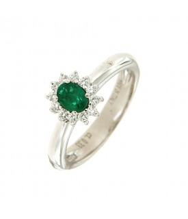 Anello con Smeraldo 0,33 ct...