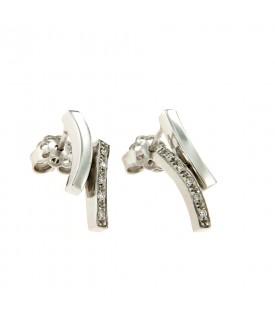 Orecchini con Diamanti 0,16 ct