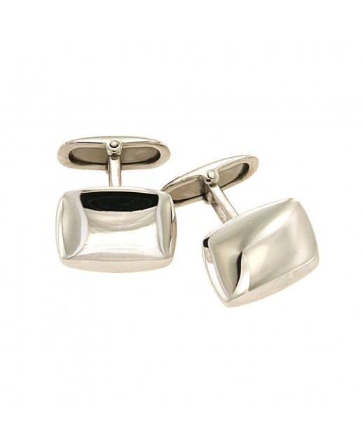 Gemelli rettangolari in argento