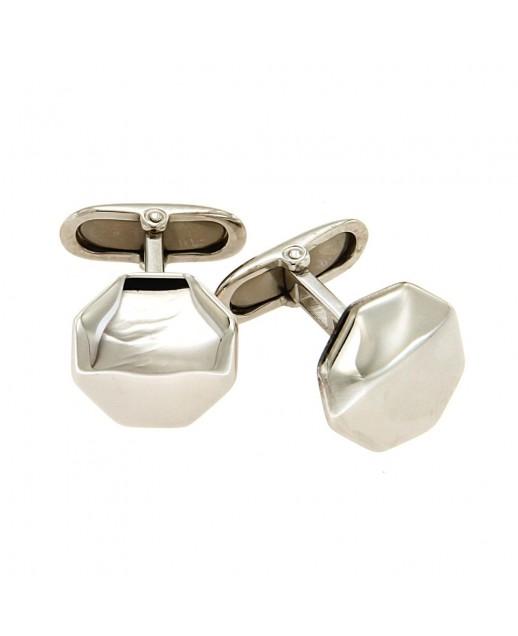 Gemelli esagonali in argento