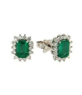 Orecchini Smeraldi 1,01 ct...