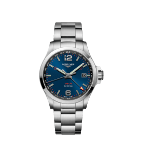 Conquest VHP GMT 43mm blu