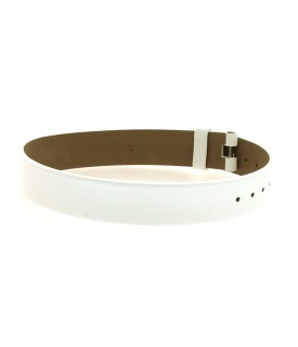 Cinturino Vitello bianco 14mm