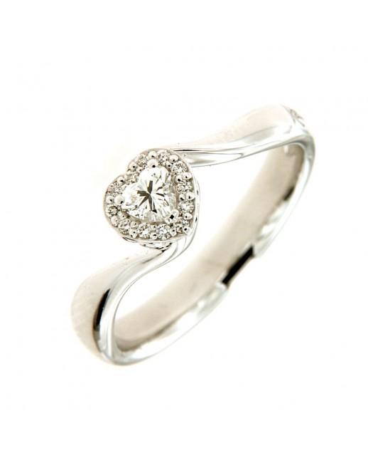Anello 0,24 ct Anniversary Love con diamanti