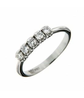 Anello Vera Diamanti 0,35 ct