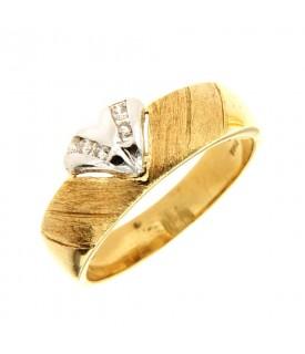 Anello oro giallo con...