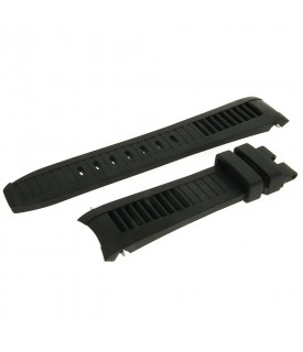 Cinturino silicone nero 21mm
