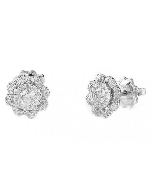 Orecchini Camelia con diamanti 0,62 ct
