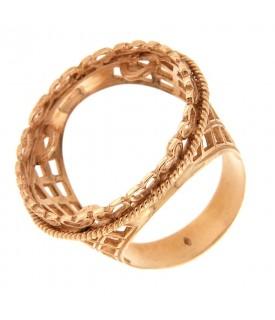 Anello portasterline in oro...