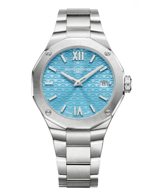 Riviera Quarzo 36mm quadrante Blu