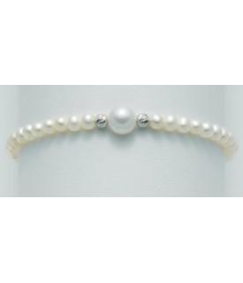 Bracciale perle 4/4,5 mm
