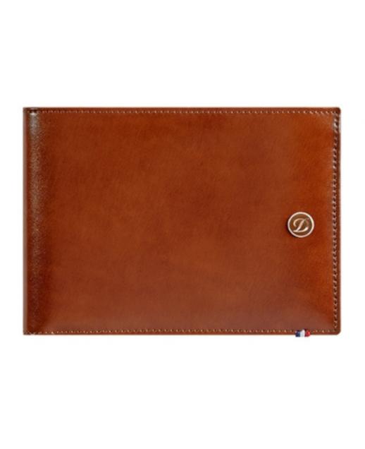 D-Line portafoglio marrone con n. 06 carte di credito