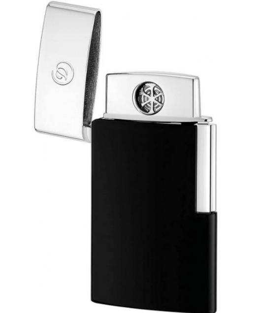 Slim electric Lighter Nero finitura cromata
