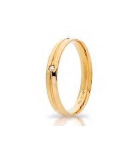 Lyra oro giallo diamond