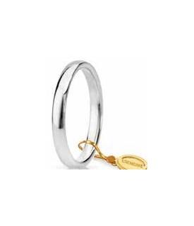 Comoda oro bianco 2,4mm