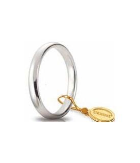 Comoda oro bianco 3mm