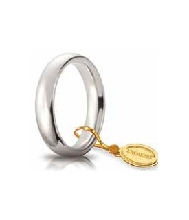 Comoda oro bianco 4mm