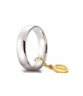 Comoda oro bianco 5mm