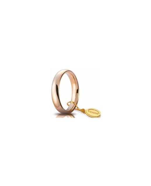 Comoda oro rosso 4mm
