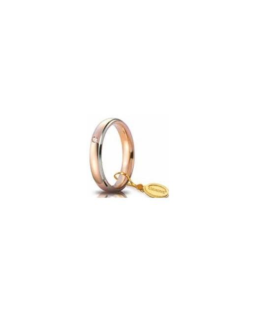 Comoda oro rosso 4mm Diamond