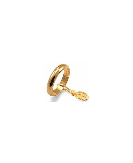Fede classica in oro giallo 6,0g