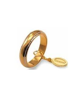 Fede classica in oro giallo...