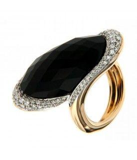 Anello Onice e Diamanti