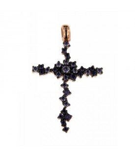 Pendente Croce Ametista