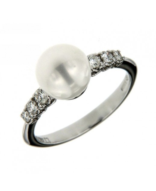 Anello Diamanti Perla