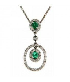 Girogola Diamanti Smeraldo