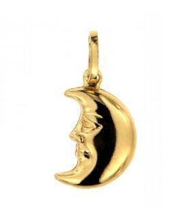 Ciondolo Oro Luna