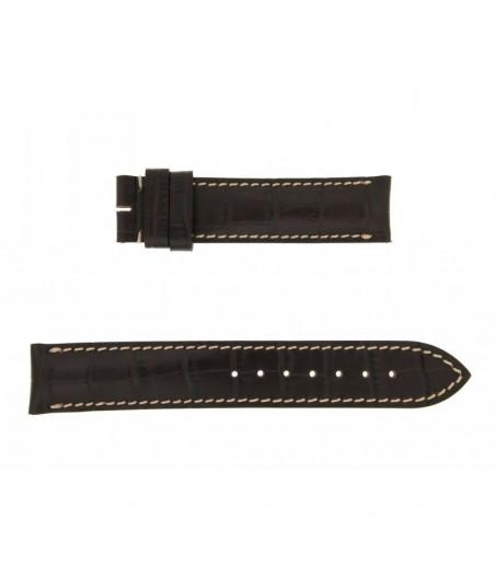 Longines Cinturino stampa Coccodrillo 18mm