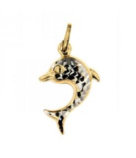 Ciondolo Oro Delfino