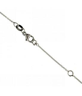 Collana Diamante 0,03 ct Perla 7mm