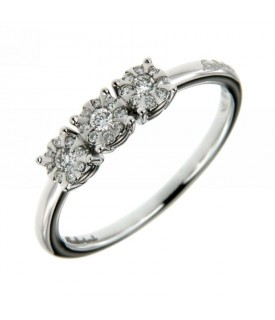 Anello Daphne Trilogy Diamanti 0,20 ct