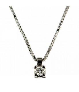 Collana Diamante 0,09 ct