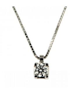 Collana Diamante 0,31 ct