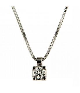 Collana Diamante 0,16 ct