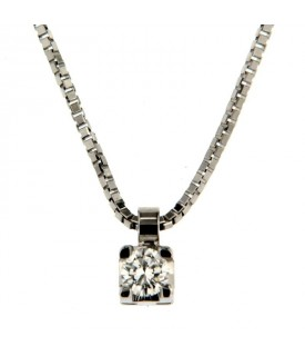 Collana Diamante 0,13 ct