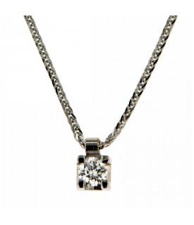 Collana Diamante 0,15 ct