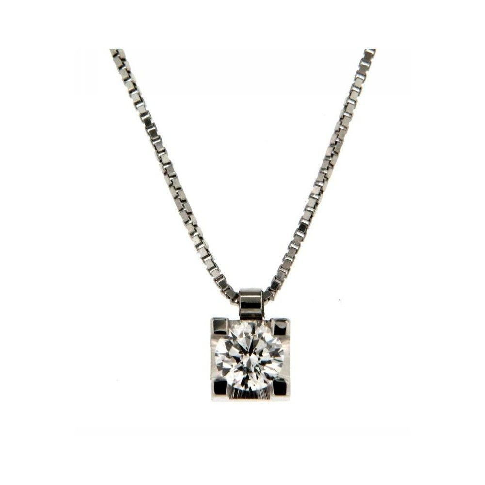 Collana Diamante 0,40 ct