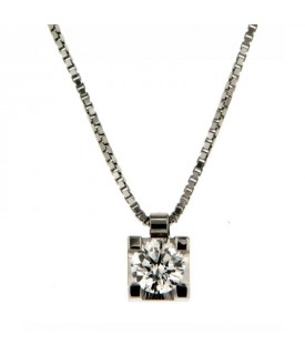 Collana Diamante 0,40 ct