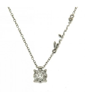 Collana Daphne con Diamanti 0,18 ct