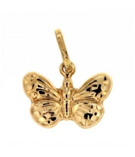 Ciondolo Oro Farfalla