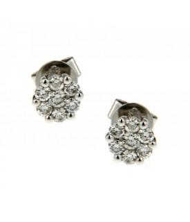 Orecchini con Diamanti 0,40 ct