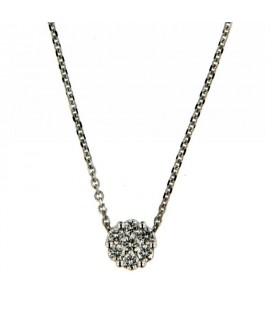 Collana con Diamanti 0,19 ct