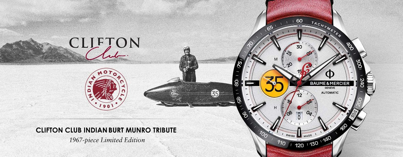 Clifton Club Indian Burt Munro